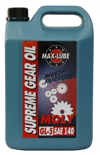 Organic Molybdenum Extreme Pressure Gear Oil MOLY SAE 140