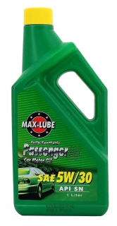 Fully synthetic energy-saving gasoline engine oil 5W30