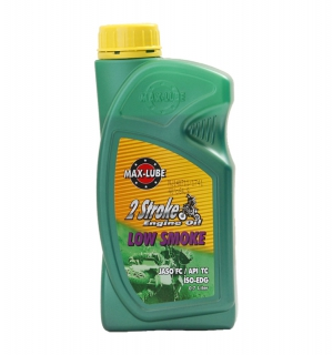 Low smoke two stroke oil