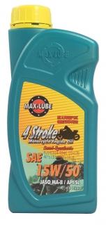 4T 15w50 Semi Synthetic Motorcycle Oil