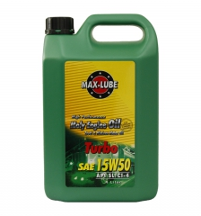 SAE 15W/50 MOLY High Performance Graphite Compound Stage Diesel Engine Oil